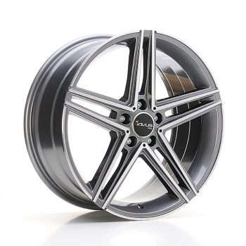 AVUS AC-515 7,5x17 ET 36 PCD 5X112 CB 66,6 ANTHRACITE POLISHED