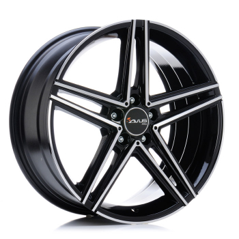 AVUS AC-515 7,5x17 ET 52,5 PCD 5X112 CB 66,6 BLACK POLISHED