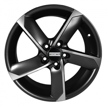 FONDMETAL 7900 6.5X15 ET 40 PCD 5x114.3X CB 66.1 MATT BLACK MACHINED