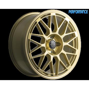 FONDMETAL 9EVO 10.5X20 ET 19 PCD 5x112X CB 66.5 GLOSSY GOLD